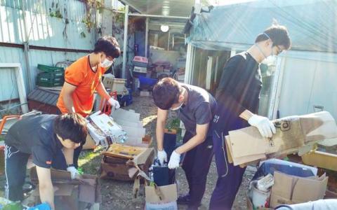 2016년 3분기 유기견 봉사활동