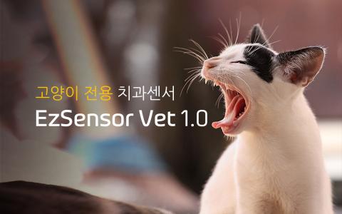 우리엔 고양이용 치과센서 Ezsensor Vet 1.0 출시